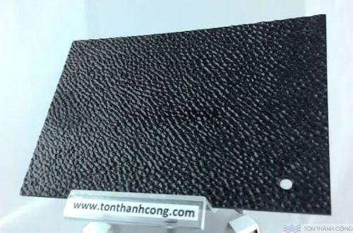 SolarFlat - màu Embossed Grey (Xám Khói Sần, Cát) - Tấm Polycarbonate Đặc Ruột Lấy Sáng