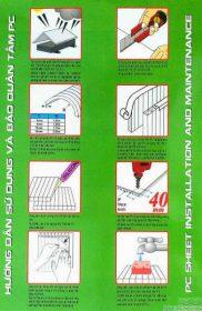 Catalogue VIP – Tấm lợp lấy sáng polycarbonate