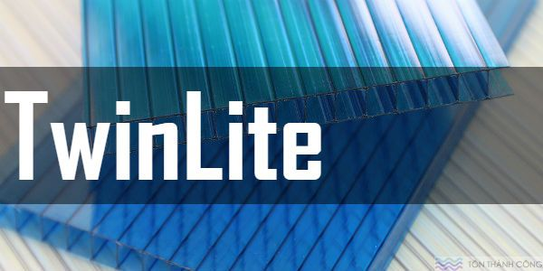 Tấm Polycarbonate TwinLite - Tấm lợp lấy sáng rỗng ruột
