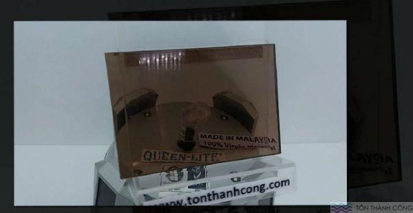 Queen-Lite Bronze (Trà Đồng) Malaysia - Tấm Polycarbonate Đặc Ruột Dày 3mm HCM