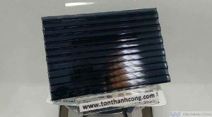 Solarlite Grey ST (Xám Khói) - Tấm Polycarbonate Rỗng Ruột HCM