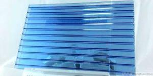 TwinLite, màu Blue (Xanh Dương) – Tấm Polycarbonate Rỗng Ruột Lấy Sáng