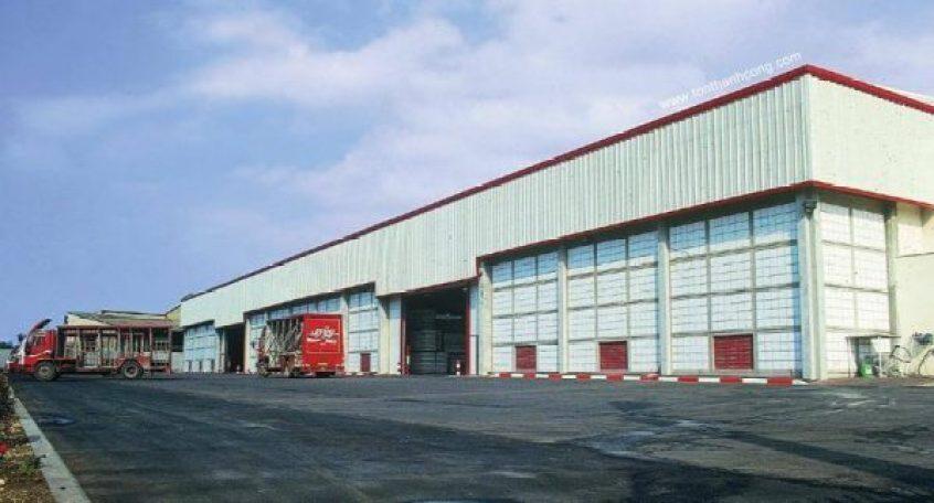 Nhà máy, xưởng sản xuất - Tôn Kháng Ăn Mòn PVC-A