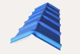 Úp nóc tôn nhựa PVC chống rỉ sét, kháng ăn mòn