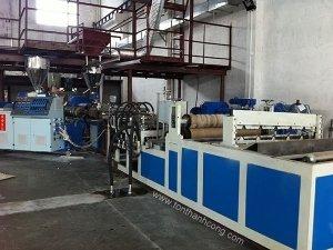 Dây truyền sản xuất Tôn Nhựa Tổng Hợp PVC / ASA / ACU