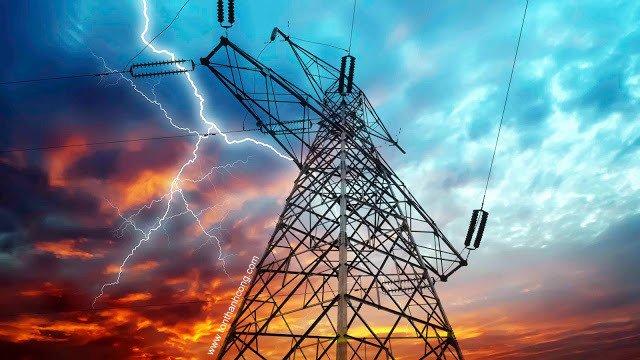 Sám sét và mạng lưới điện