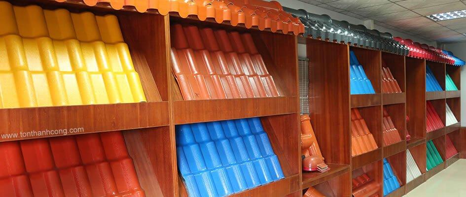 Ngói Nhựa PVC ASA phòng trưng bày