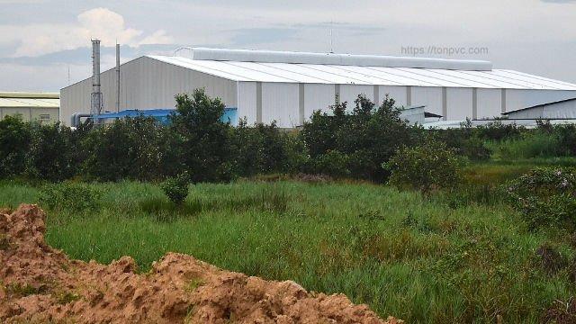 Hình 13 : mặt sau Phân bón Nông Nghiêp Vàng - Long An, Tôn Nhựa ASA/PVC