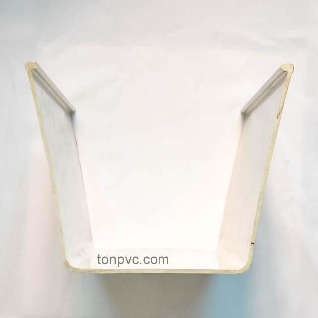 Hình 04 : Quy cách kỹ thuật Máng Xối Nhựa PVC