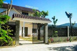 Hình 02 : mái đón Nhà Nghỉ Hejmo Homestay - Đà Nẵng, Ngói Nhựa ASA/PVC màu Xám Đen