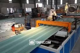 Nhà máy sản xuất Tôn Nhựa ASA/PVC tại TP.HCM