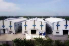 Nhà máy sản xuất tôn nhựa, ngói nhựa và máng xối nhựa bằng PVC / ASA / APVC / uPVC