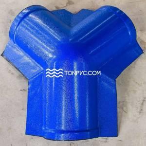 Tấm Úp Đỉnh Ngói Nhựa Màu Xanh Dương