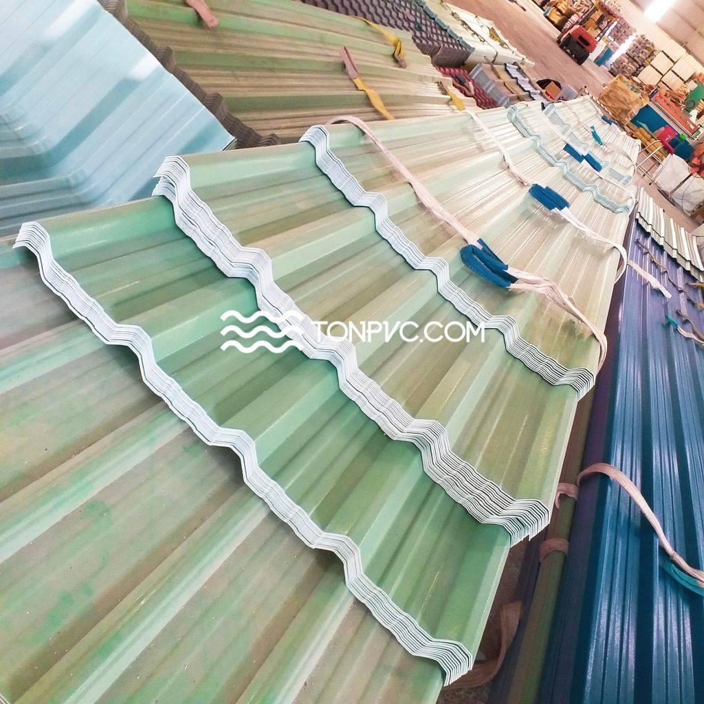 Tôn Nhựa PVC Cách Nhiệt