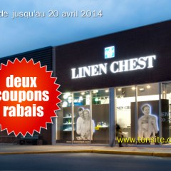 linen chest - Nouveaux coupons rabais Linen Chest!