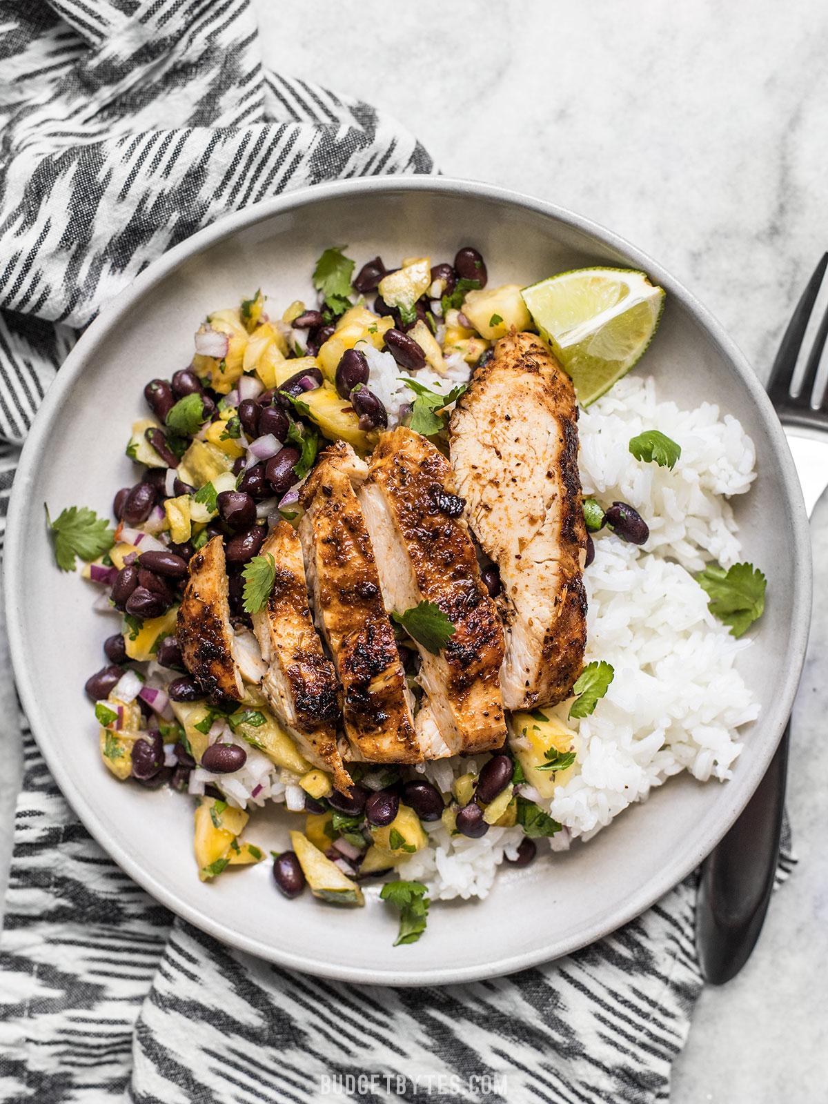 jerk chicken dinner recipe