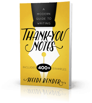 Thank you for lunch with thankyou note examples