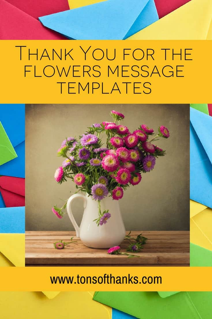 Thank You For The Surprise Gift : thank, surprise, Thank, Flowers, Message, Templates