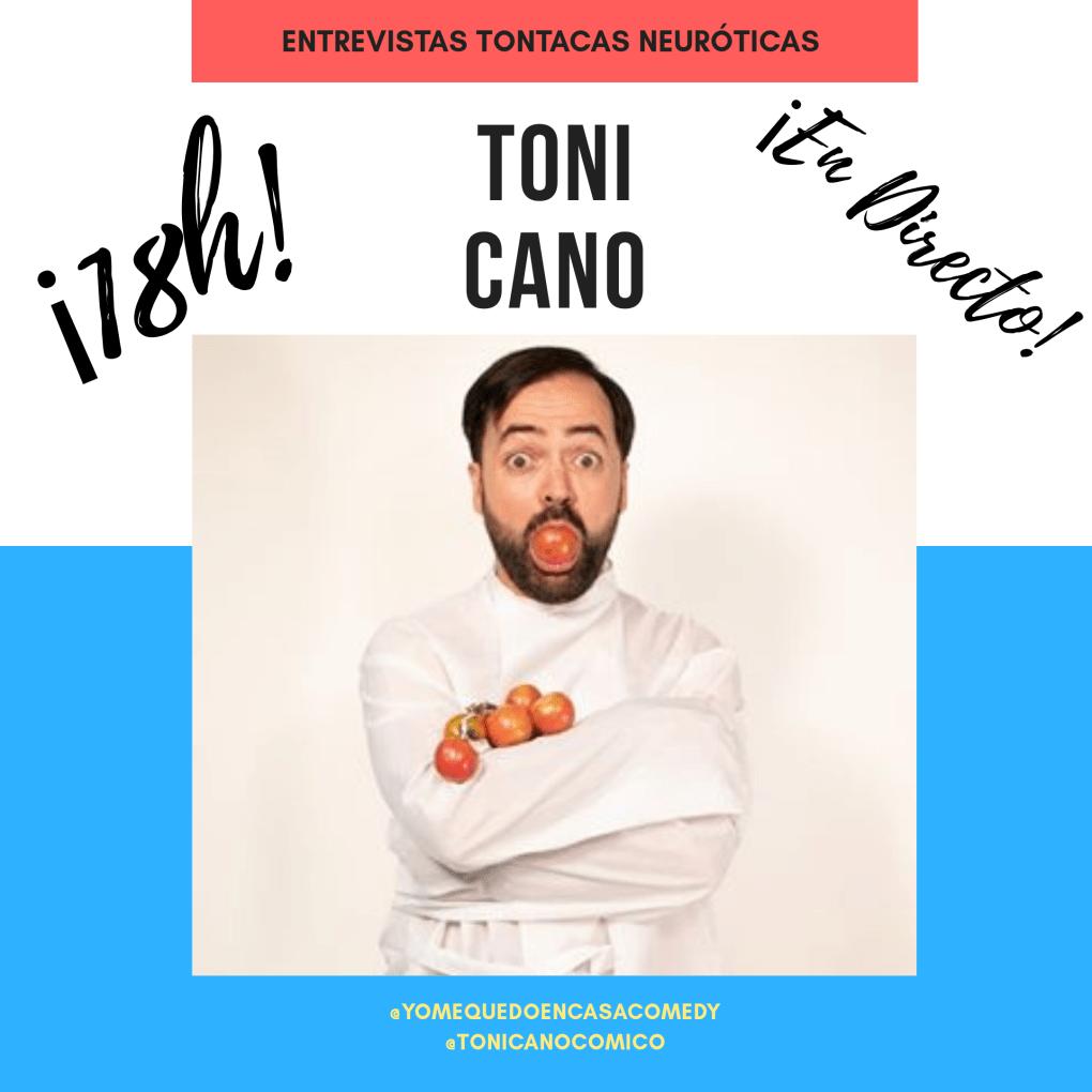 Toni Cano entrevista
