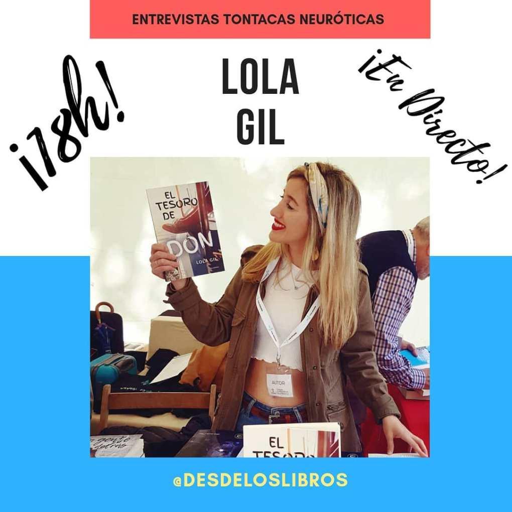 Lola Gil entrevista