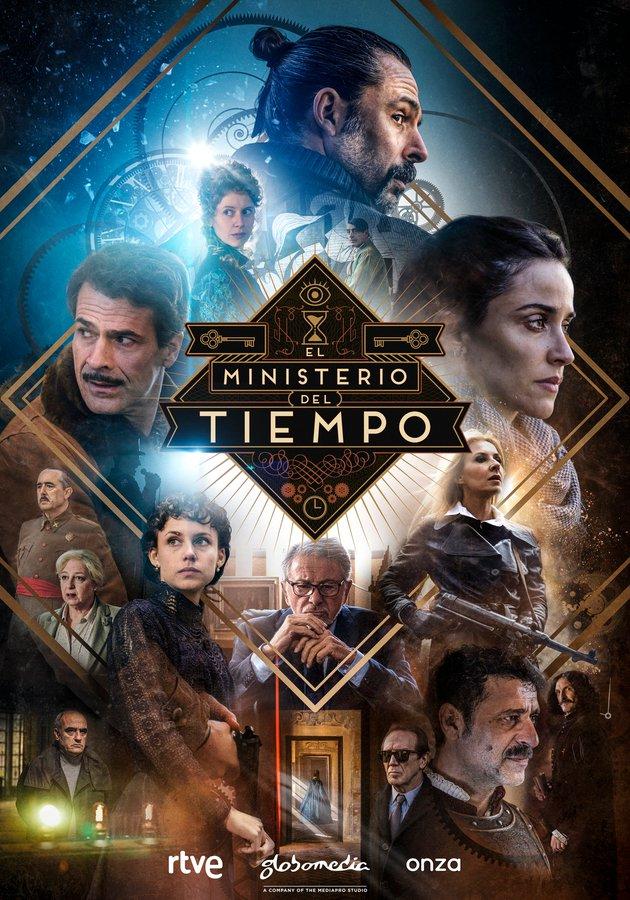 cartel oficial de la cuarta temporada de El Ministerio del Tiempo
