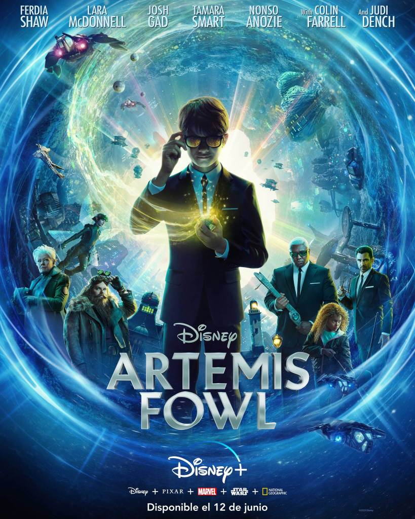 Artemis Fowl Póster
