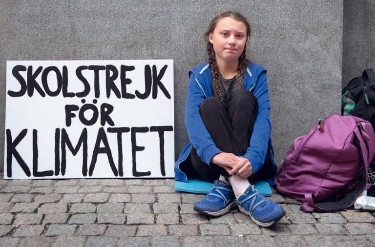 Greta Thunberg activista contra el cambio climático