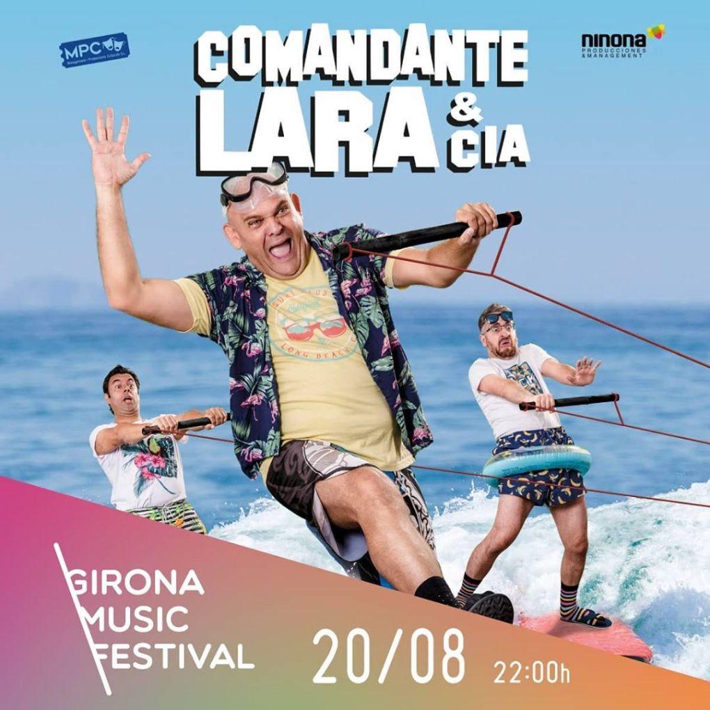 comandante lara girona music festival