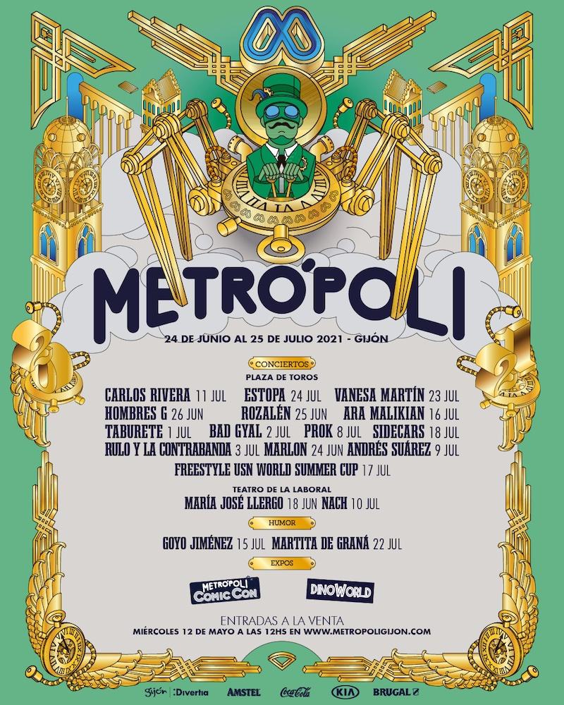 Festival Metrópoli Gijon 2021
