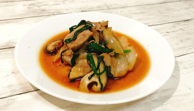 三元豚バラ焼肉(野菜炒め)