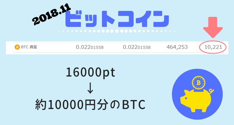 11月ビットコイン結果