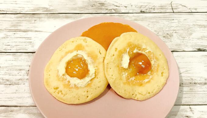 木村屋パンケーキ(メープルとマーガリン)
