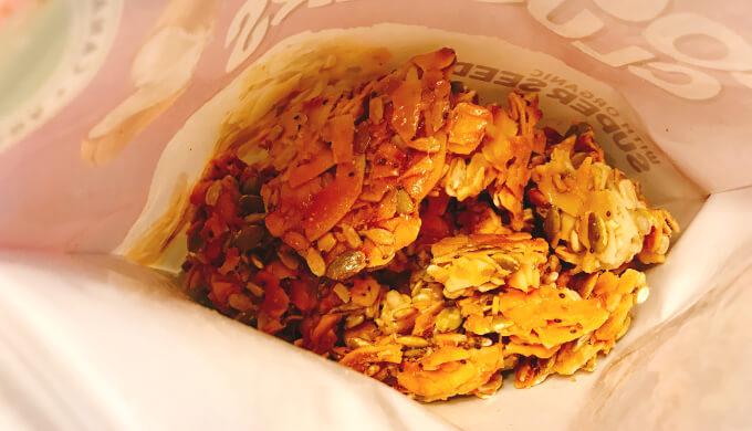 ココナッツクラスター(袋の中)