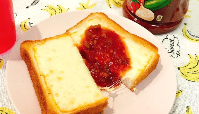 フィンランディアミュンスターチーズ(サルサチーズトースト)