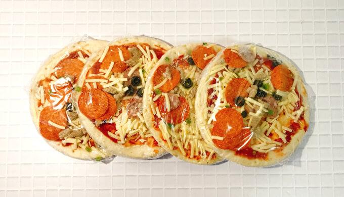 トロナペパロニピザ(内容量)