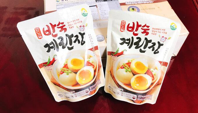 コストコin韓国(半熟漬卵)