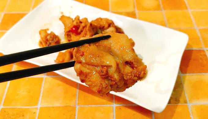 甘辛チキン(焼いたチキン)