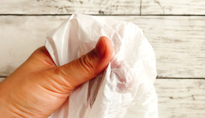 KLゴミ袋(質感)
