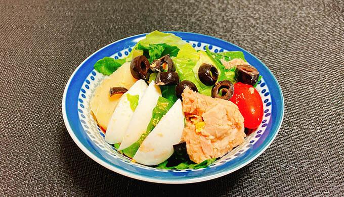 ニース風サラダ(盛付)