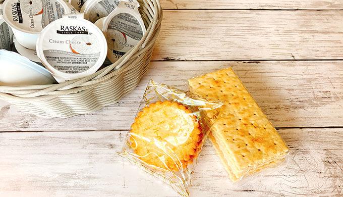 ラスカスクリームチーズ(クラッカーに塗る)