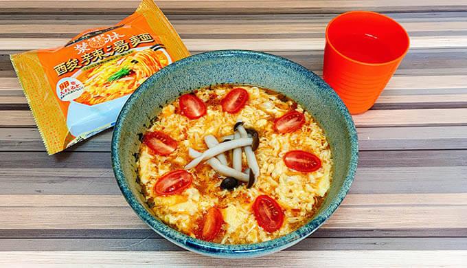 エンジェルトマト(酸辣湯麺)
