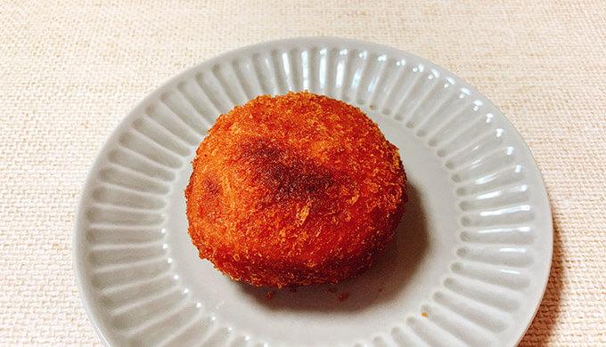 ミニカレーパン(トースター調理後)