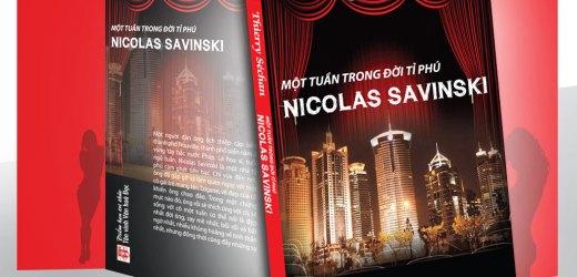 Tiểu thuyết: Một tuần trong đời tỷ phú Nicolas Savinski