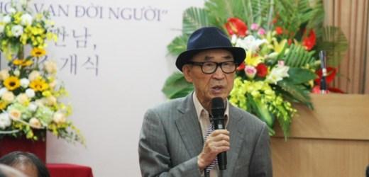 Ứng viên Nobel Văn chương Ko Un: Việt Nam là quê hương của tôi