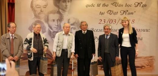 Nối dài dòng chảy hợp tác văn học Nga – Việt