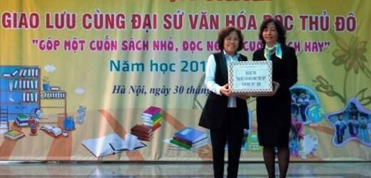 Hơn 12 nghìn học sinh Thủ đô tham gia Đại sứ Văn hóa đọc