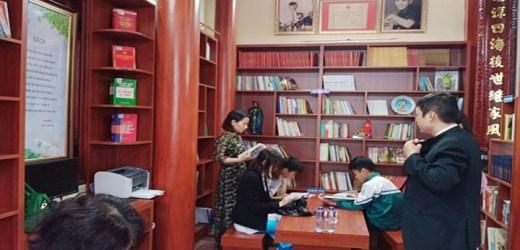 Lan tỏa mô hình thư viện gia đình ở Bắc Ninh