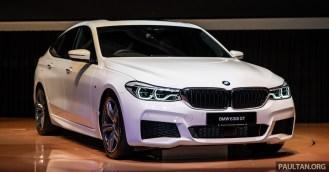 2018 BMW 6 Series GT Exterior