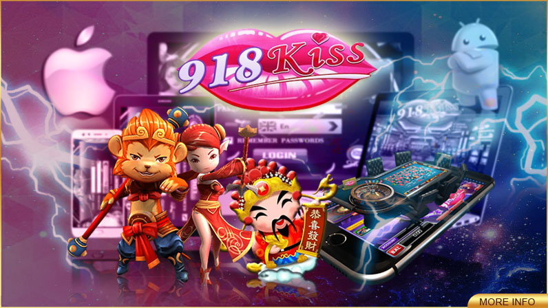 918Kiss Online Slot Machines Get Ready for Real Fun and Excitement