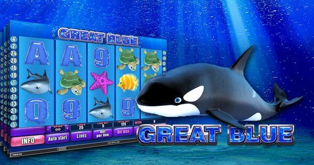 Deep blue slot game